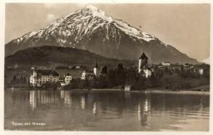 Switzerland Spiez mit Niesen 01.38