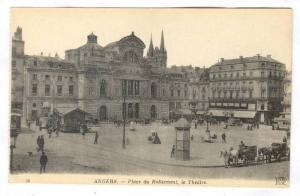 Place Du Ralliement, Le Theatre, Angers (Maine-et-Loire), France, 1900-1910s