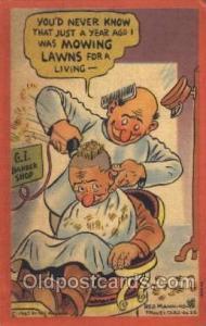 Reg Manning Military Postcard Postcards  Reg Manning