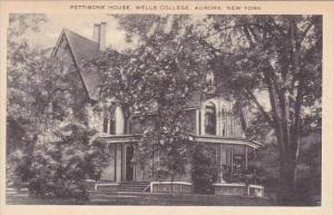 New York Aurora Pettibone House Wells College Artvue