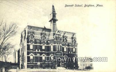 Bennett School Brighton MA Unused