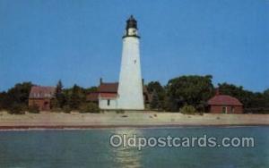 Lake Huron Port Huron, Michigan USA Lighthouse, Lighthouses Postcard Postcard...