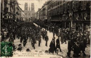 CPA ORLÉANS-Fete de Jeanne d'Arc - Procession Officiers de la Garnison (266120)