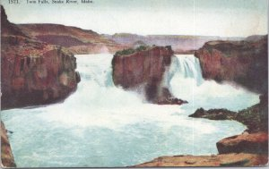 Snake River, Idaho - Twin Falls on the Snake River - 1909