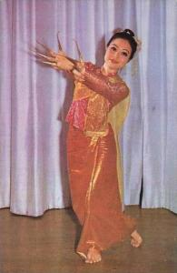 Thailand Attractive Nail Dance of Northern Thailand