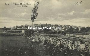 syria, HORM ORM, Village near Ericha (1920s) Wattar 302