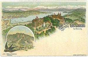 Ansichtskarten Schweiz VINTAGE POSTCARD: SWITZERLAND - GRUSS AUS: UETLIBERG