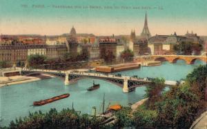 France Paris Panorama sur la Seine 01.88