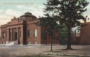 St John , New Brunswick , Canada , 00-10s : Free Public library