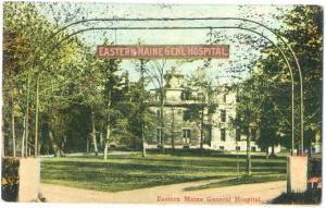Eastern Maine General Hospital, Bangor Maine, ME, Divided Back
