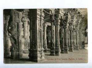 147338 INDIA MADURA Siva Temple Vintage postcard