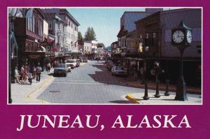 Alaska Juneau South Franklin Street 1988