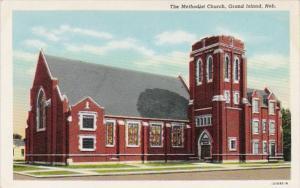 Nebraska Grand Island The Methodist Church Curteich