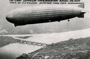 IA - Davenport. The Graf Zeppelin, August 28, 1929. 80th Anniversary