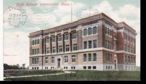 Massachusetts Leominster High School 1909