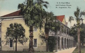 ST AUGUSTINE , Florida , 00-10s ; Post Office & Custom House