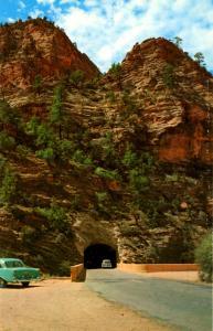 UT - Zion National Park, East Entrance Tunnel