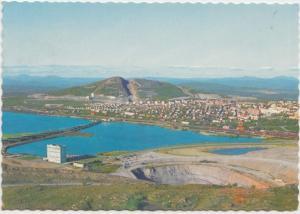 Kiruna med Luossavaara i bakgrunden, 1975 used Postcard