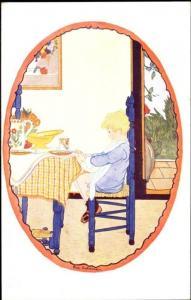 artist signed RIE CRAMER, New Rhyme (1930s) (1)