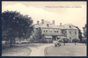 Pickaway County Childrens Home Circleville OH unused c1920's
