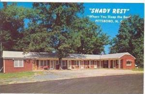 Shady Rest Motel, Pittsboro, North Carolina, 1940-60s