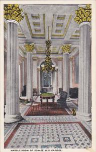 Marble Room of Senate U S Capitol Washington DC