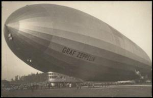 Germany Graf Zeppelin Airship  RPPC 68777