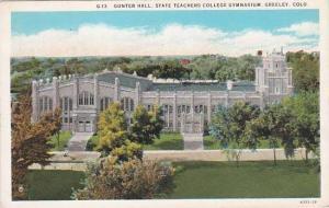 Gunter Hall State Teachers College Gymnasium Greeley, Colorado, 10-20s