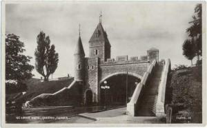 RPPC of the St. Louis Gate, Quebec, Canada