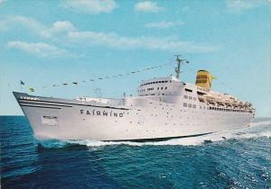 Sitmar Cruises Fairwind 1987