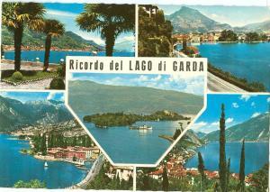 Italy, Ricordo del Lago di Garda, used Postcard