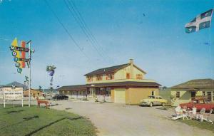 Motel Laurier, Plessisville, Quebec, Canada, PU-1963