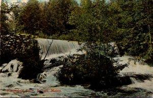 Maine Belfast Hiramdale Falls