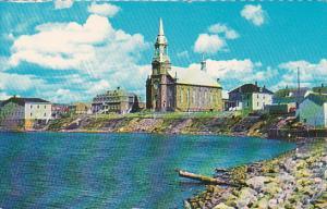 Canada Nova Scotia Cape Breton Leglise Saint Pierre Cheticamp