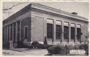 Exterior,  U.S. Post Office,  Lumberton,  North Carolina,  40-60s