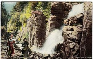 Cascade in the Flume, Franconia Notch NH