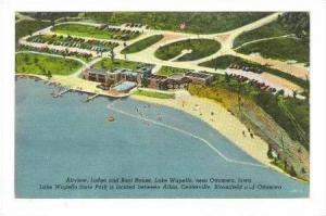 Airview,Lodge&Boat House,Lake Wapello,Ottumwa,IA,30-40s