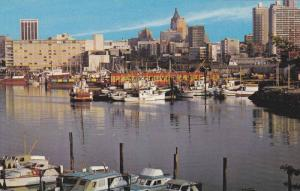Harbour and Pleasure Boats,  Vancouver,  B.C.,  Canada,  40-60s