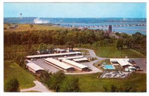 Swimming Pool,  The Inn Motel,  Niagara Falls,  Ontario,   Canada,   40-60s