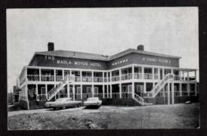 NS Marla Motor Hotel DIGBY NOVA SCOTIA CANADA Postcard