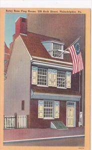 Pennsylvania Philadelphia Betsy Ross Flag House 239 Arch Street