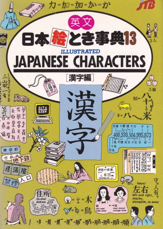 Japan in Your Pocket Japanese Characters Kanji Book