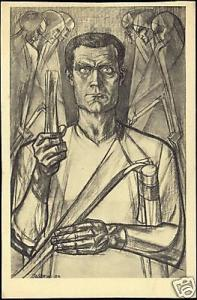 Dutch Symbolist JAN TOOROP - The Rebel
