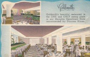 MEMPHIS, Goldsmith Restaraunt, Tennessee, 30-40s