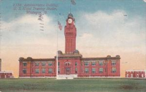 Illinois Waukegan Administration Building U S Naval Training Station 1913