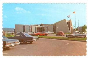 L'hotel de ville de Matane Matane Town Hall, Quebec,  Canada,  PU_1976