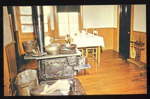 Jackson, Tennessee/TN Postcard,Kitchen/Casey Jones RR Museum