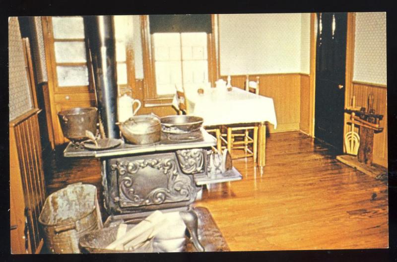 Jackson Tennesseetn Postcardkitchencasey Jones Rr Museum