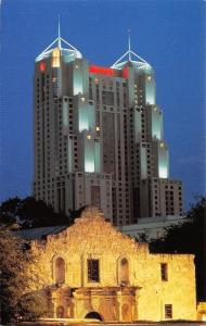 San Antonio Texas~San Antonio Marriott Rivercenter~Alamo 1950s PC