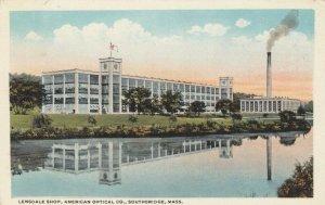 SOUTHBRIDGE , Massachusetts, 1910s ; Lensdale Shop , American Optical Company